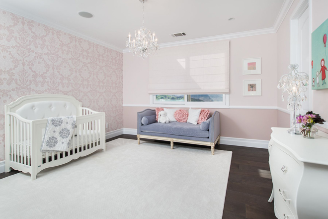 Calabasas Baby's Bedroom by Eve Mode Design