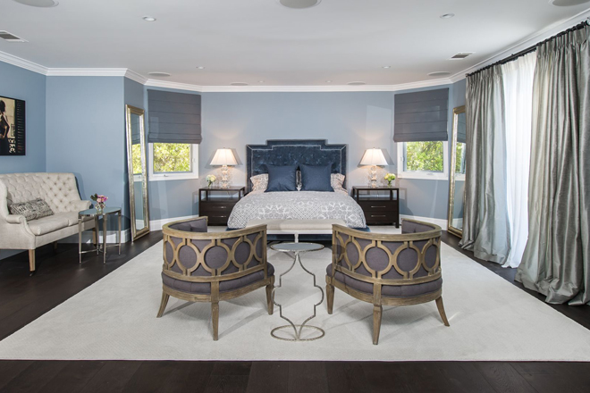Calabasas Bedroom by Eve Mode Design