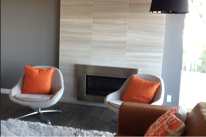 Eve Mode Design Palos Verdes Fireplace