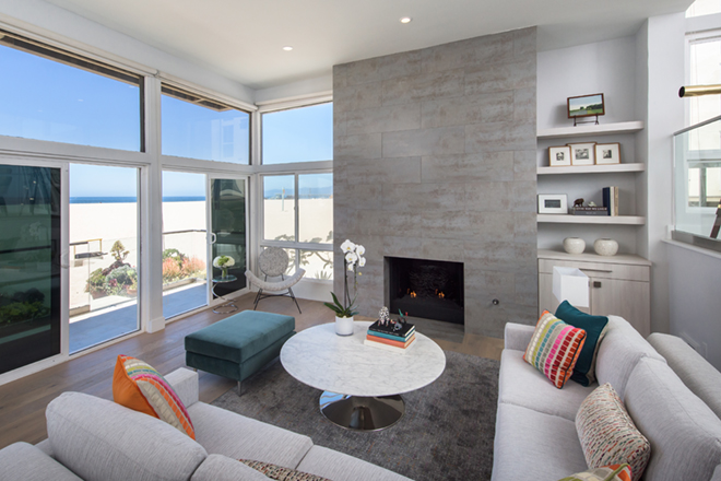 EveModeDesign-California Beach House -Living Room2
