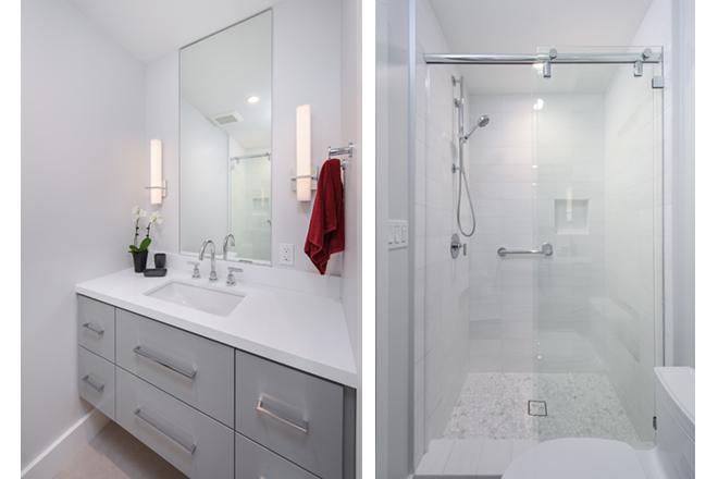 EveModeDesign – California Beach House – Bathroom