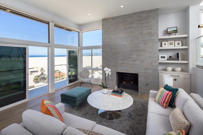 EveModeDesign-California Beach House – Living Room- greatest
