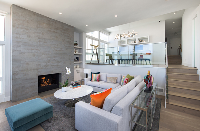 EveModeDesign-California Beach House – Living Room